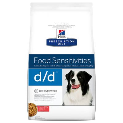 Hill's Prescription Diet d/d Food Sensitivities hundfoder med lax & ris