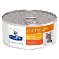 Hill's Prescription Diet Feline c/d Multicare Urinary Care - Chicken