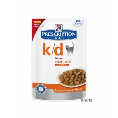 Hill's Prescription Diet Feline K/D Maaltijdzakjes - Renal Health