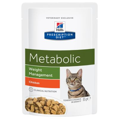 Hill's Prescription Diet Feline Metabolic, kurczak w sosie