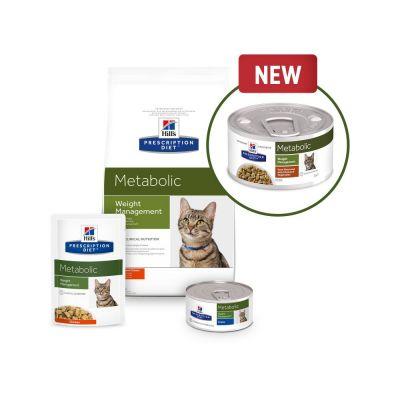 Metabolic diet cat food