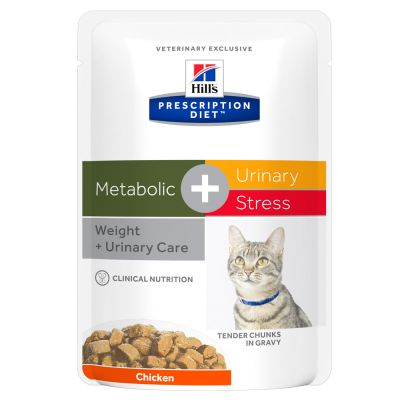 Hill's Prescription Diet Feline Metabolic + Urinary Stress Chicken