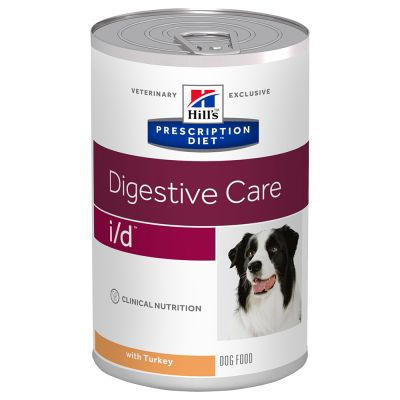 Hill's Prescription Diet i/d Digestive Care hundefoder med kalkun