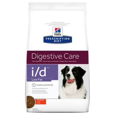 Hill's Prescription Diet i/d Low Fat Digestive Care poulet pour chien