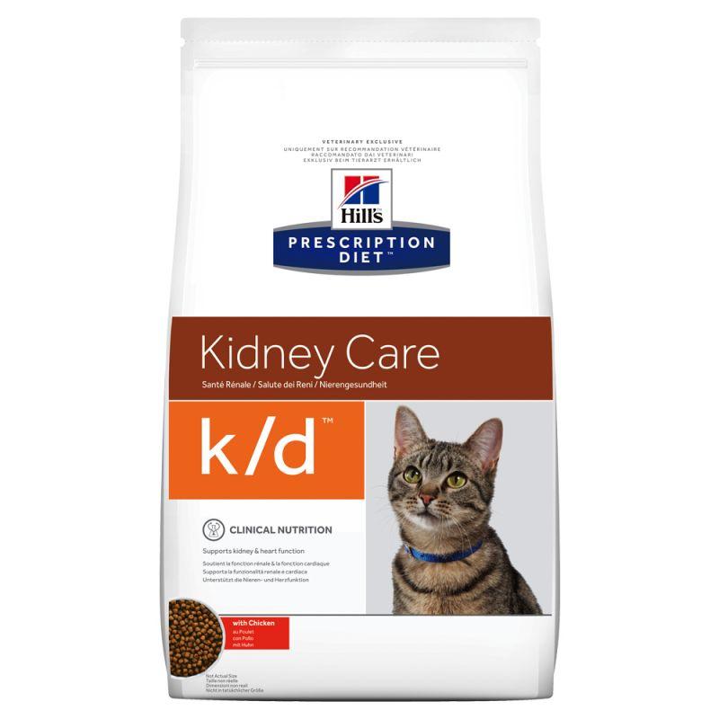 Hill's Prescription Diet k/d Kidney Care com frango ração para gatos