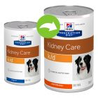 Hill's Prescription Diet k/d Kidney Care latas para cães