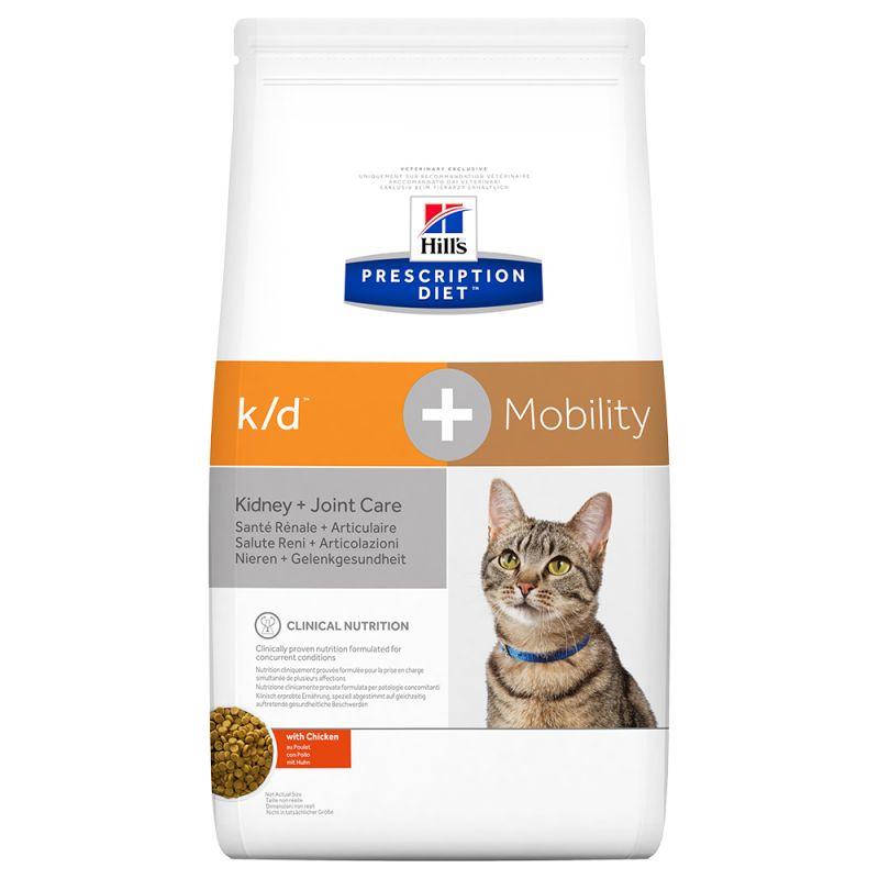 Hill's Prescription Diet k/d + Mobility  Kidney + Joint Care frango