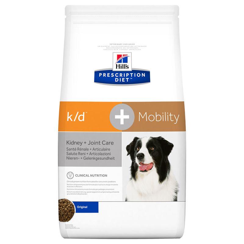 Hill's Prescription Diet k/d + Mobility Kidney + Joint Care Original hundfoder