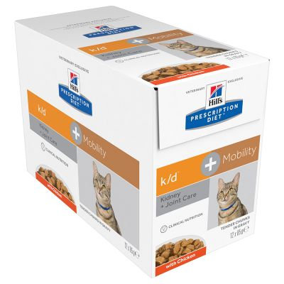 Hill's Prescription Diet k/d + Mobility Kidney + Joint Care umido per gatti
