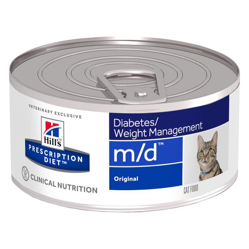 Hill's Prescription Diet m/d Diabetes/Weight Management latas para gatos