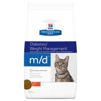 Hill's Prescription Diet m/d Diabetes/Weight Management secco per gatti