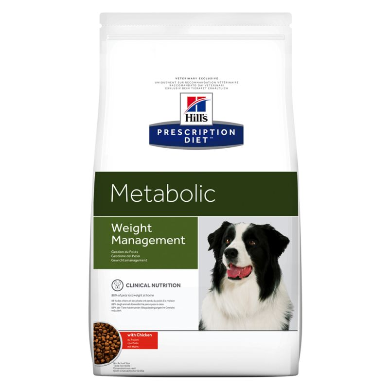 Hill's Prescription Diet Metabolic Weight Management hundfoder med kyckling