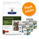 Hill's Prescription Diet Metabolic Weight Management 1,5 kg ou 4 kg + 6 ou 12 x 150 g - Pack misto