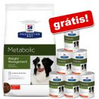 Hill's Prescription Diet Metabolic Weight Management ração + 6 latas grátis