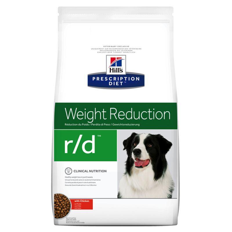 Hill's Prescription Diet r/d Weight Reduction hundfoder med kyckling