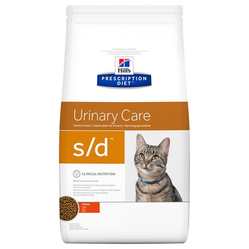 Hill's Prescription Diet s/d Urinary Care com frango ração para gatos