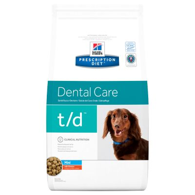 Hill's Prescription Diet t/d Mini Dental Care poulet pour chien