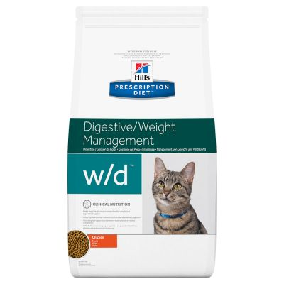 Hill's Prescription Diet w/d Digestive/Weight Management secco per gatti