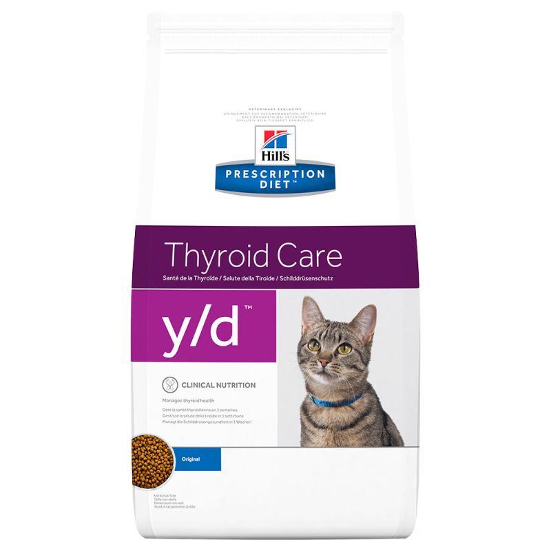 Hill's Prescription Diet y/d Thyroid Care Original ração para gatos