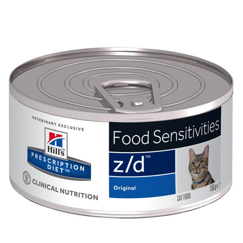 Hill's Prescription Diet z/d Food Sensitivities comida húmida para gatos Original