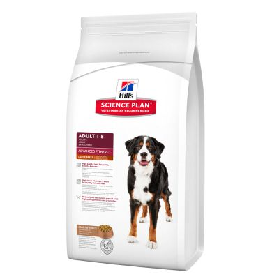 Hill's Science Plan Adult 1-5 Advanced Fitness Large Breed agneau, riz pour chien