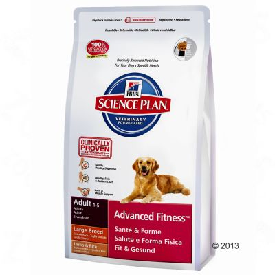 Hill's Science Plan Adult 1-5 Advanced Fitness Large Breed bárány & rizs