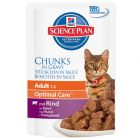 Hill's Science Plan Adult Cat Optimal Care - Beef