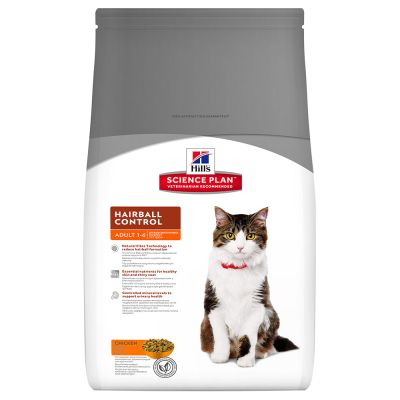 Hill's Science Plan Adult Hairball & Indoor, kurczak