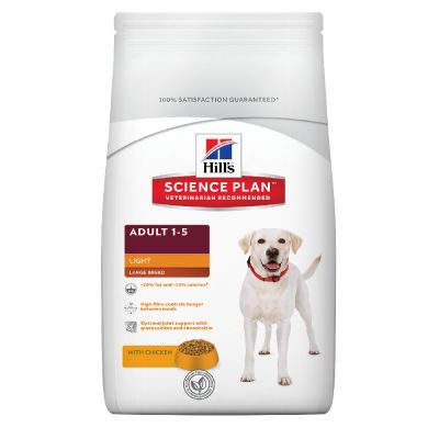 Hill's Science Plan Adult 1-5 Light Large Breed poulet pour chien