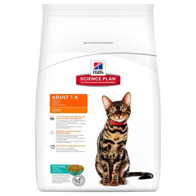 Hill's Science Plan Adult 1-6 Optimal Care Light Kattenvoer met Tonijn