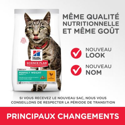 Hill's Science Plan Adult Perfect Weight poulet pour chat