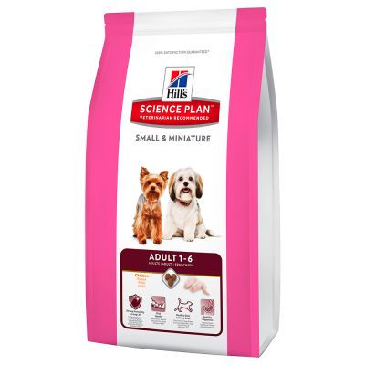 Hill's Science Plan Adult 1-6 Small & Miniature poulet pour chien