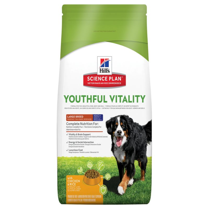 Hill's Science Plan Adult 5+ Youthful Vitality Large Breed with Chicken