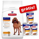 Hill's Science Plan Canine + 3 latas Adult Fitness frango grátis!