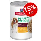 Hill's Science Plan Canine Adult Light/Perfect Weight - 15% Off!*
