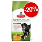 Hill's Science Plan Canine Youthful Vitality : 20 % de remise !