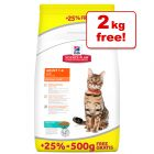 Hill's Science Plan Feline - 10kg + Extra 2kg Free!*