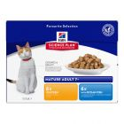 Hill's Science Plan Feline Mature Adult 7+ Pack Misto