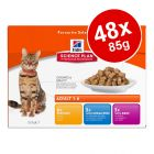 Hill's Science Plan Feline Pouches Mega Pack 48 x 85g