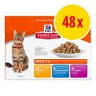 Hill's Science Plan Feline Pouches Multibuy 48 x 85g