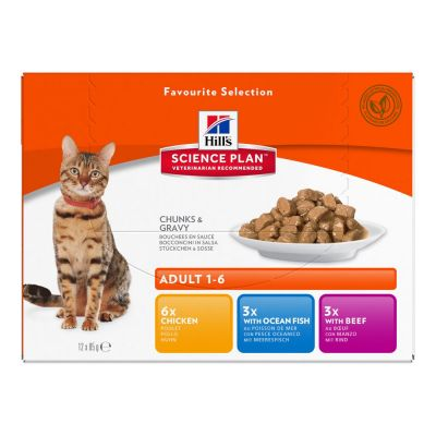 Hill's Science Plan Feline Young Adult Sterilised Pack Misto