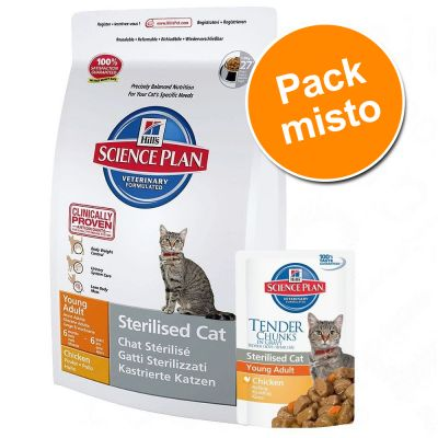 Hill's Science Plan 1,5 kg ou 2 kg + 24 x 85 g - Pack misto