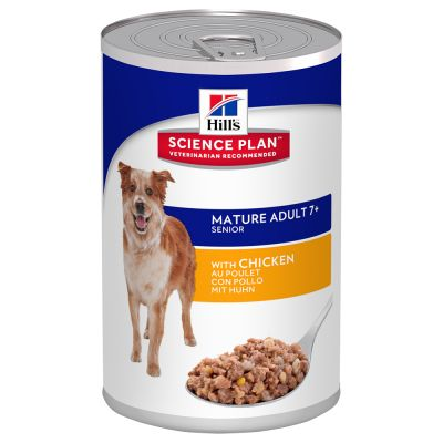 Hill's Science Plan Mature Adult 7+  6 x 370 g