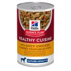 Hill's Science Plan Mature Adult 7+ Healthy Cuisine Stews csirke & zöldség