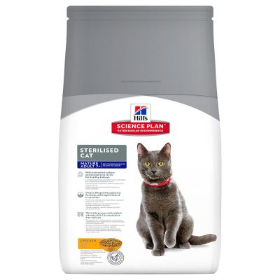 Hill's Science Plan Mature Adult 7+ Sterilised Cat Pollo