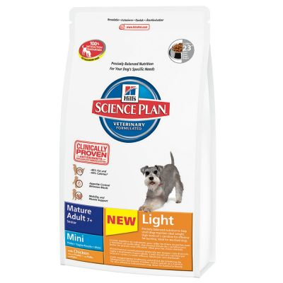 Hill's Science Plan Mature 7+ Light Mini Pollo