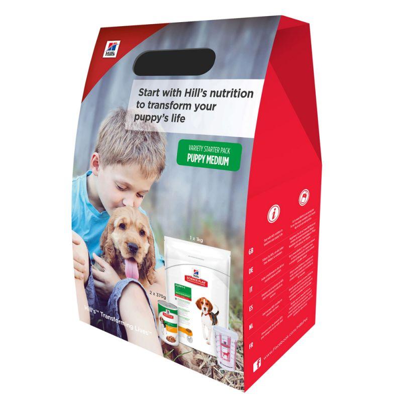 Hill's Science Plan Medium Puppy Starter Kit