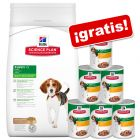 Hill's Science Plan Puppy 12 / 16 kg pienso + 6 x 370 g latas ¡gratis!