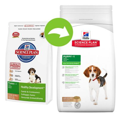 Hill's Science Plan Puppy Healthy Development Medium bárány & rizs