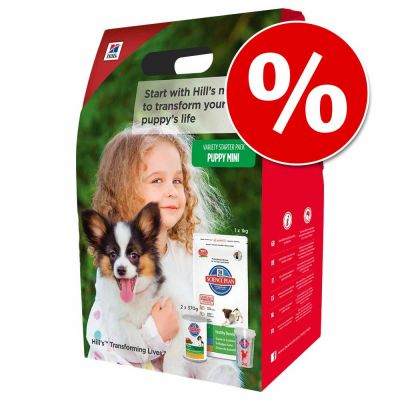 Hill's Science Plan Puppy pack de iniciación ¡a precio especial!